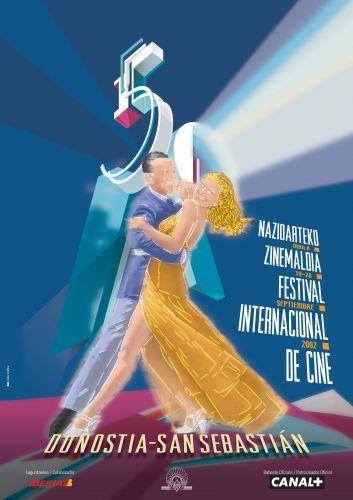 Cartel de del Festival de San Sebastián 2002