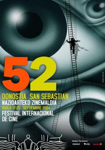 Cartel de del Festival de San Sebastián 2004
