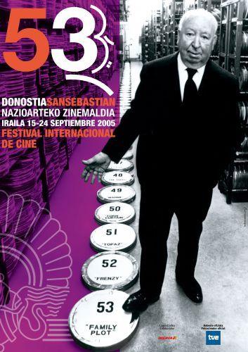 Cartel de del Festival de San Sebastián 2005