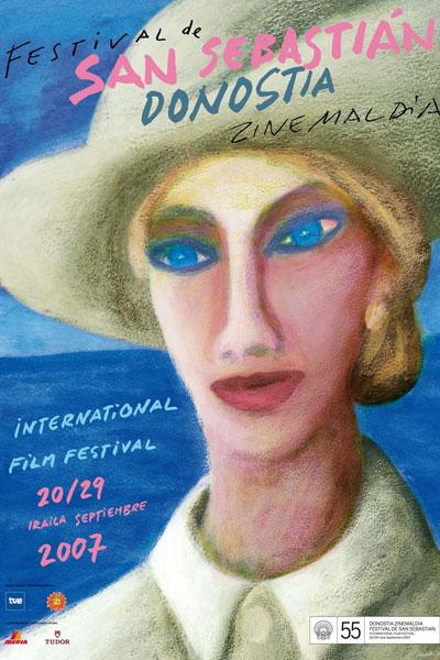 Cartel de del Festival de San Sebastián 2007