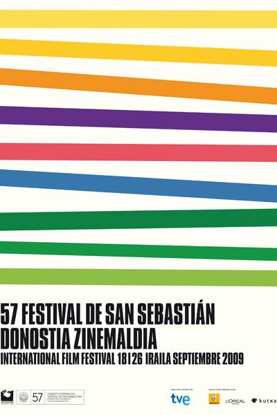 Cartel de del Festival de San Sebastián 2009