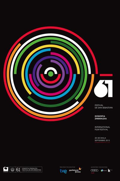 Cartel de del Festival de San Sebastián 2013