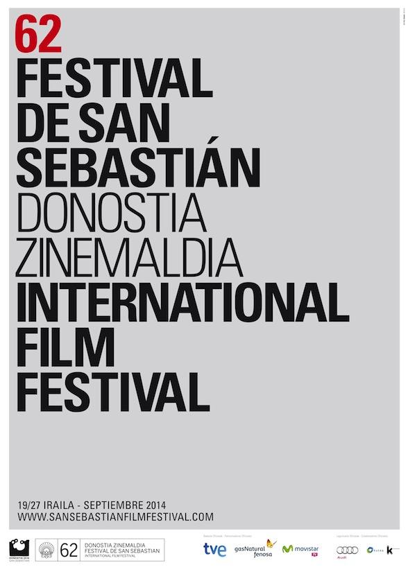 Cartel de del Festival de San Sebastián 2014