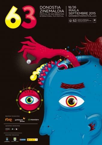 Cartel de del Festival de San Sebastián 2015