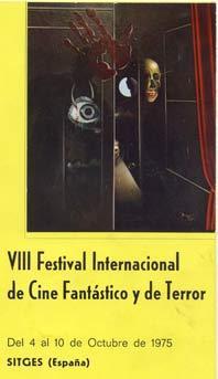 Cartel de del Festival de Sitges 1975