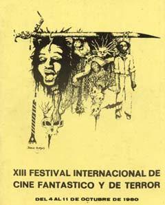 Cartel de del Festival de Sitges 1980