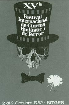Cartel de del Festival de Sitges 1982