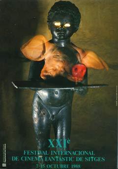 Cartel de del Festival de Sitges 1988