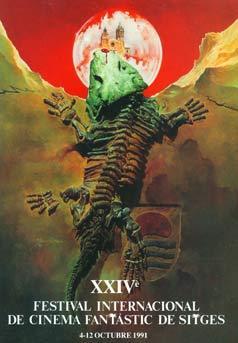 Cartel de del Festival de Sitges 1991
