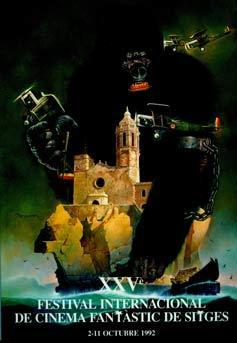 Cartel de del Festival de Sitges 1992