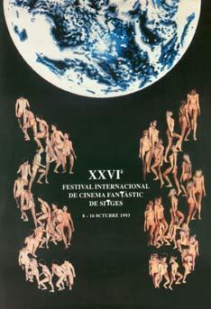 Cartel de del Festival de Sitges 1993