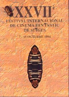 Cartel de del Festival de Sitges 1994