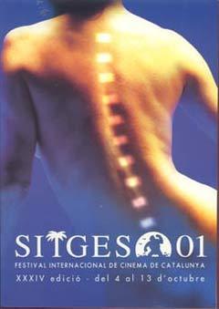 Cartel de del Festival de Sitges 2001