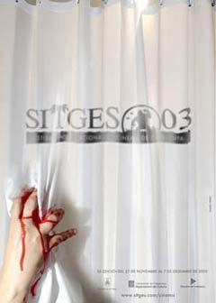 Cartel de del Festival de Sitges 2003