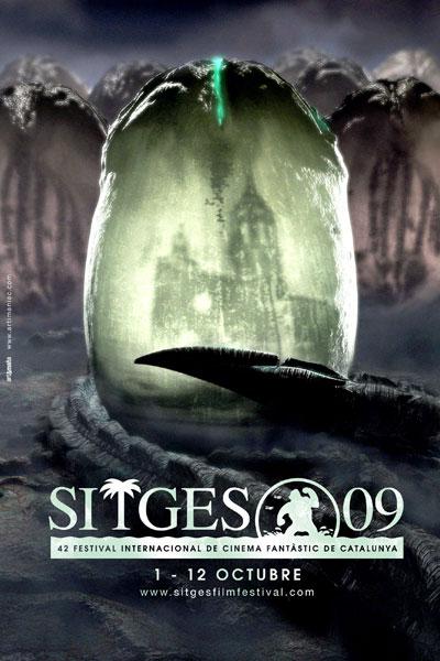 Cartel de del Festival de Sitges 2009