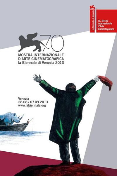 Cartel de del Festival de Venecia 2013