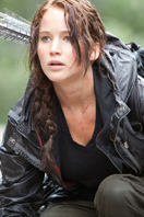 Katniss (Jennifer Lawrence en 'Los juegos del hambre')
