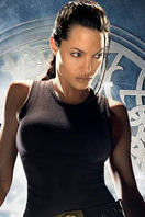 Lara Croft (Angelina Jolie en 'Tomb Raider')