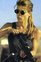 Sarah Connor (Linda Hamilton en 'Terminator')