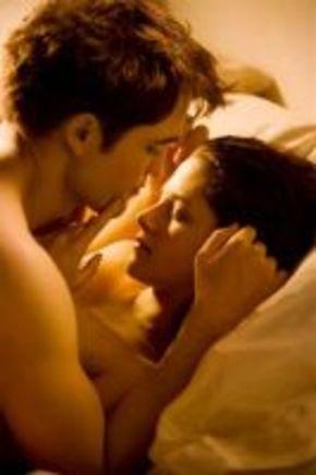 Primera imagen de Bella y Edward en su noche de bodas