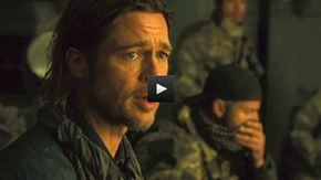 Brad Pitt en primera línea en el nuevo clip de 'Guerra mundial Z'