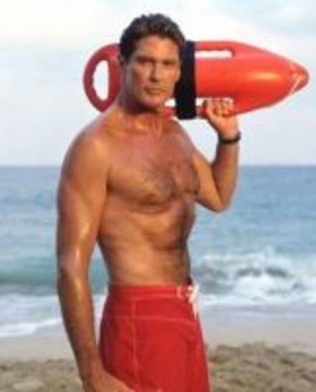 David Hasselhoff saldrá en la peli de 'Los vigilantes de la playa'