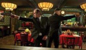 Primera imagen de los agentes J y K en 'Men in black 3'