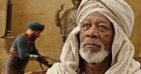 Morgan Freeman, el mentor de 'Ben-Hur'