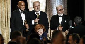 O'Hara, Belafonte, Miyazaki y Carriere, premiados con el Oscar Honorífico