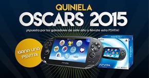 Acierta la Quiniela de los Oscars 2015 y llévate una PS Vita