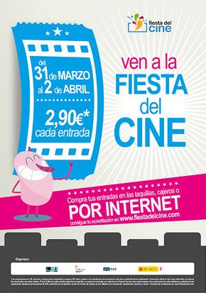 Hoy arranca la sexta edición de la Fiesta del Cine