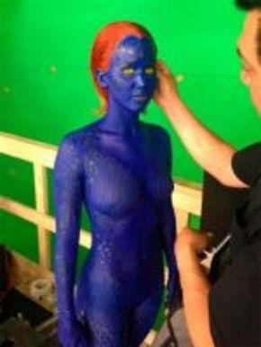 Primera imagen de Jennifer Lawrence como Mística