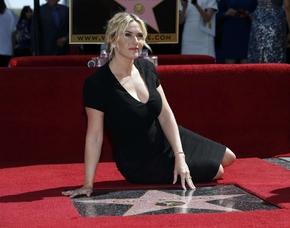 Kate Winslet ya tiene su estrella en el Paseo de la Fama