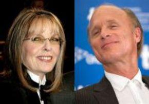 Diane Keaton y Ed Harris comparten una historia de amor