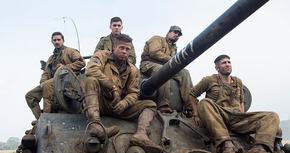 Primer avance de 'Fury', la nueva película de Brad Pitt