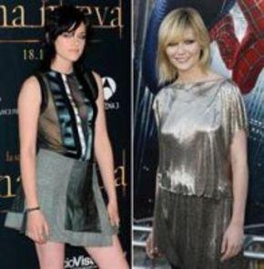 Pareja de Kristens en la adaptación cinematográfica 'En el camino'