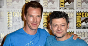 Benedict Cumberbatch y Andy Serkis trabajaran juntos en 'El libro de la selva'