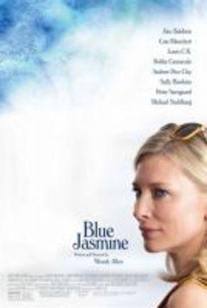 Sencillo y elegante cartel de 'Blue Jasmine'
