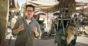 Mensaje de J.J. Abrams desde el set de rodaje de 'Star Wars: Episodio VII'