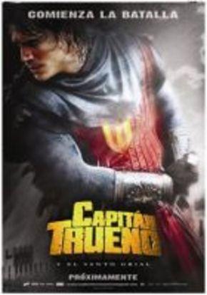 Primer póster promocional de 'El Capitán Trueno'