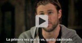 Hemsworth queda cautivado por Stewart en 'Blancanieves y la leyenda del cazador'