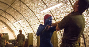 Clip de Mística en acción en 'X-Men: Días del futuro pasado'
