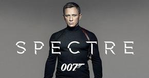 Primer cartel promocional de 'Spectre'