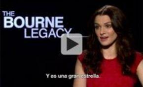 Rachel Weisz, encantada con su papel en 'El legado de Bourne'