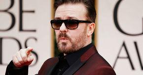Ricky Gervais se disculpa de antemano por los chistes que hará en los Globos de Oro
