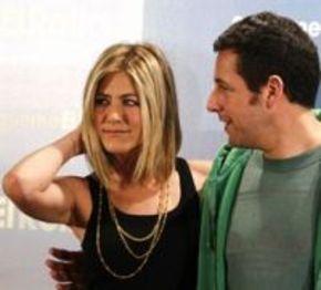 Sandler y Aniston, en Madrid para presentar la comedia 'Sígueme el rollo'