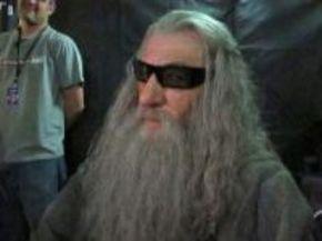 Ian McKellen cuelga una curiosa instantánea del rodaje de 'El Hobbit'