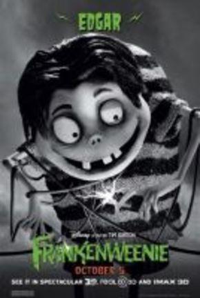 Nueve carteles diferentes de los personajes de 'Frankenweenie'
