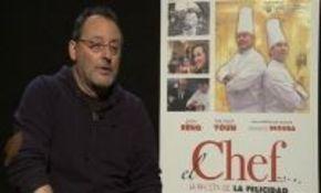 Jean Reno presenta en Madrid su nueva comedia, 'El chef, la receta de la felicidad'