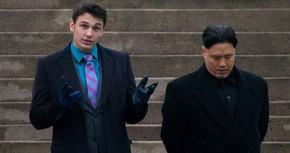 Seth Rogen y James Franco comentan el estreno de 'The Interview'